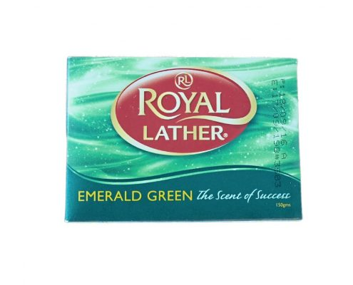 sapun royal lather emerald green