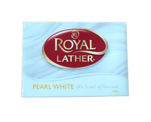 sapun royal leather pearl white