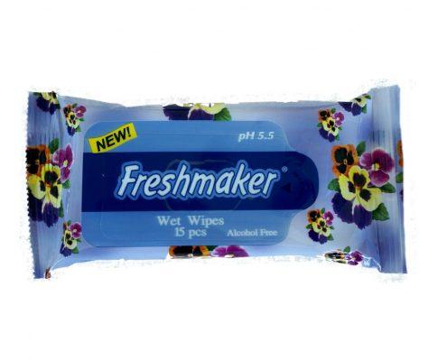 servetele umede freshmaker 15 buc blue