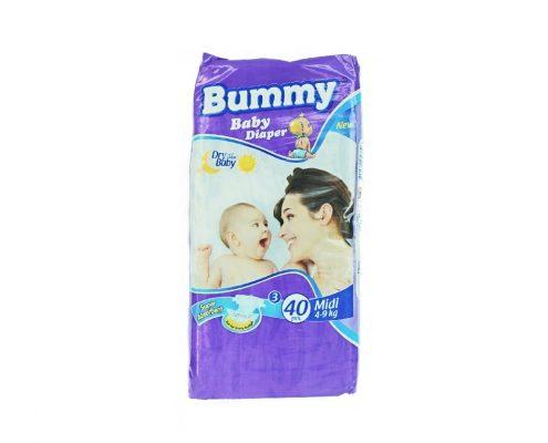 bummy - scutece copii midi 40 buc