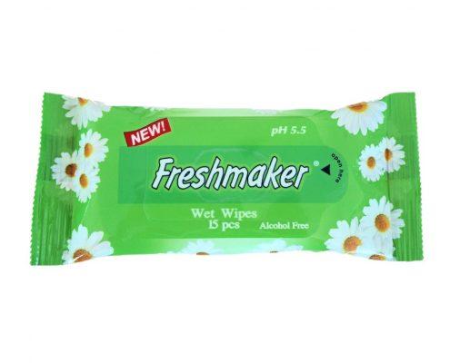 freshmaker servetele umede 15 buc verzi