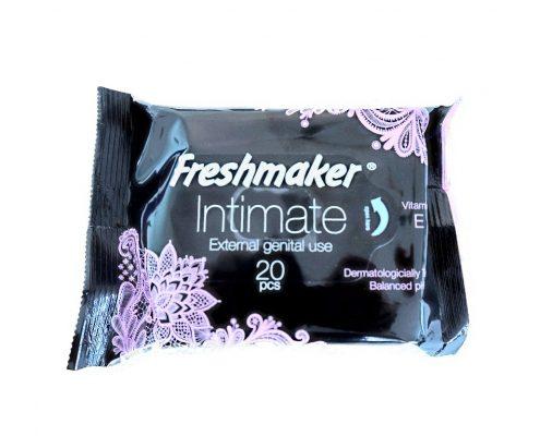 freshmaker servetele umede intime cu vitamina e