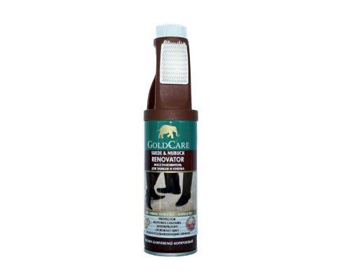 goldcare- Spray reconditionare si protectie piele intoarsa cu perie -maro