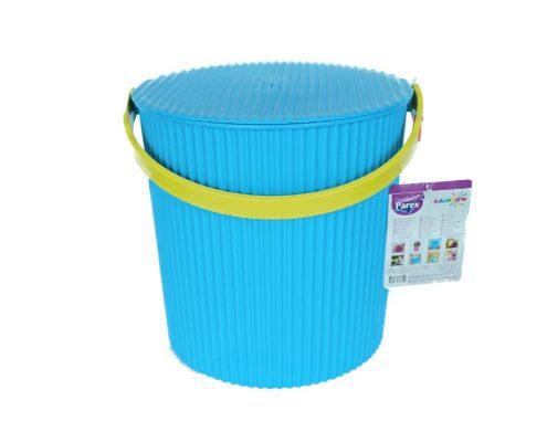 parex -galetusa plastic colorata albastra maner galben